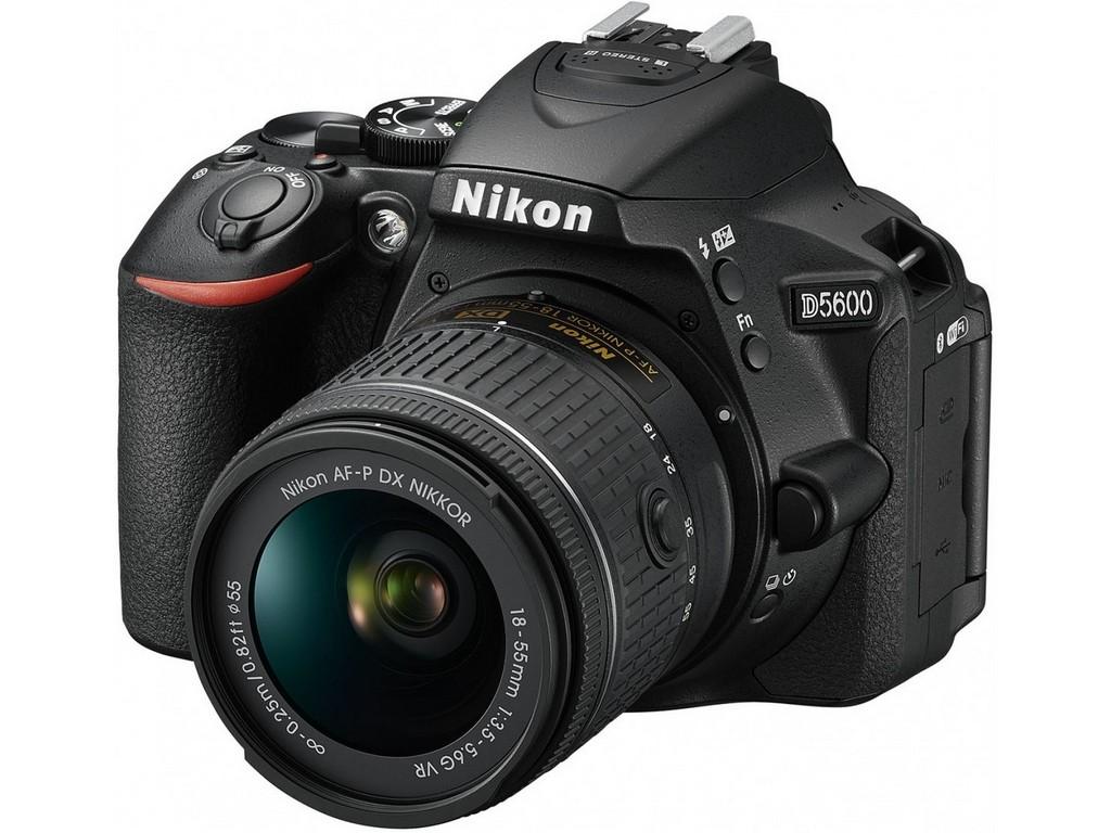 NIKON D5600 kit AF-P 18-55VR bk