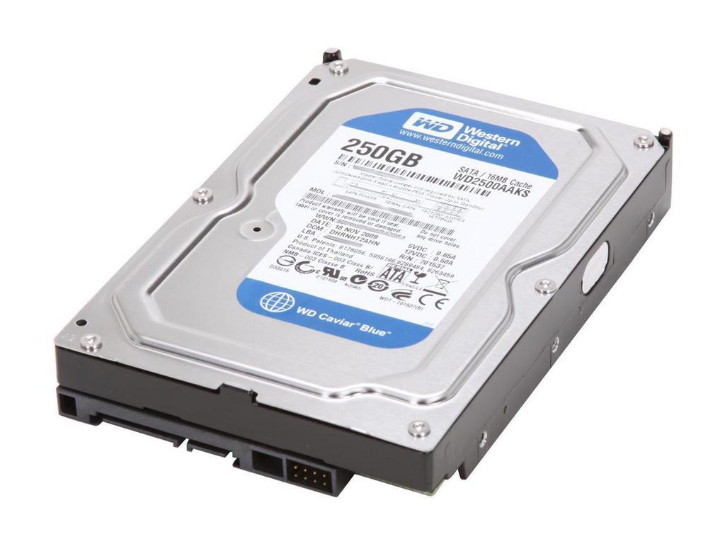 Western Digital 250GB 3.5